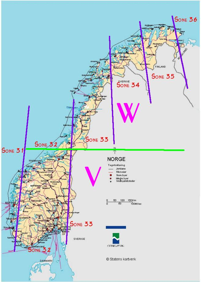 Gps Og Kart Koordinater I Norge